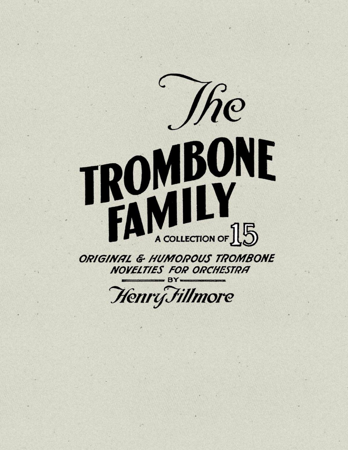 Fillmore, Trombone Family Solo Collection-p01