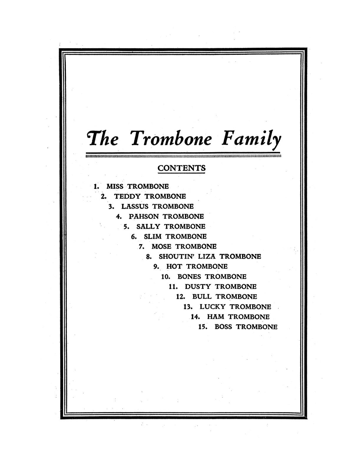 Fillmore, Trombone Family Solo Collection-p02