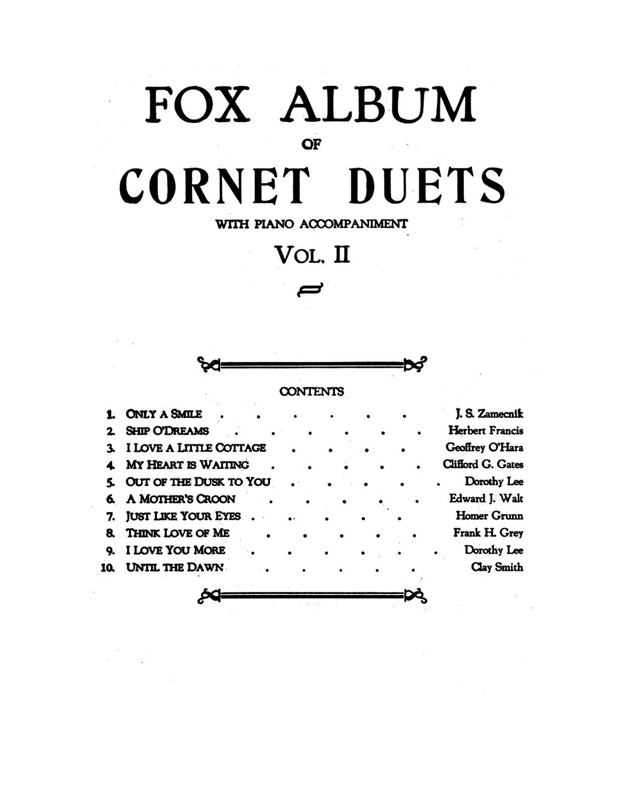 Fox Album of Cornet Duets Vol.2-p27