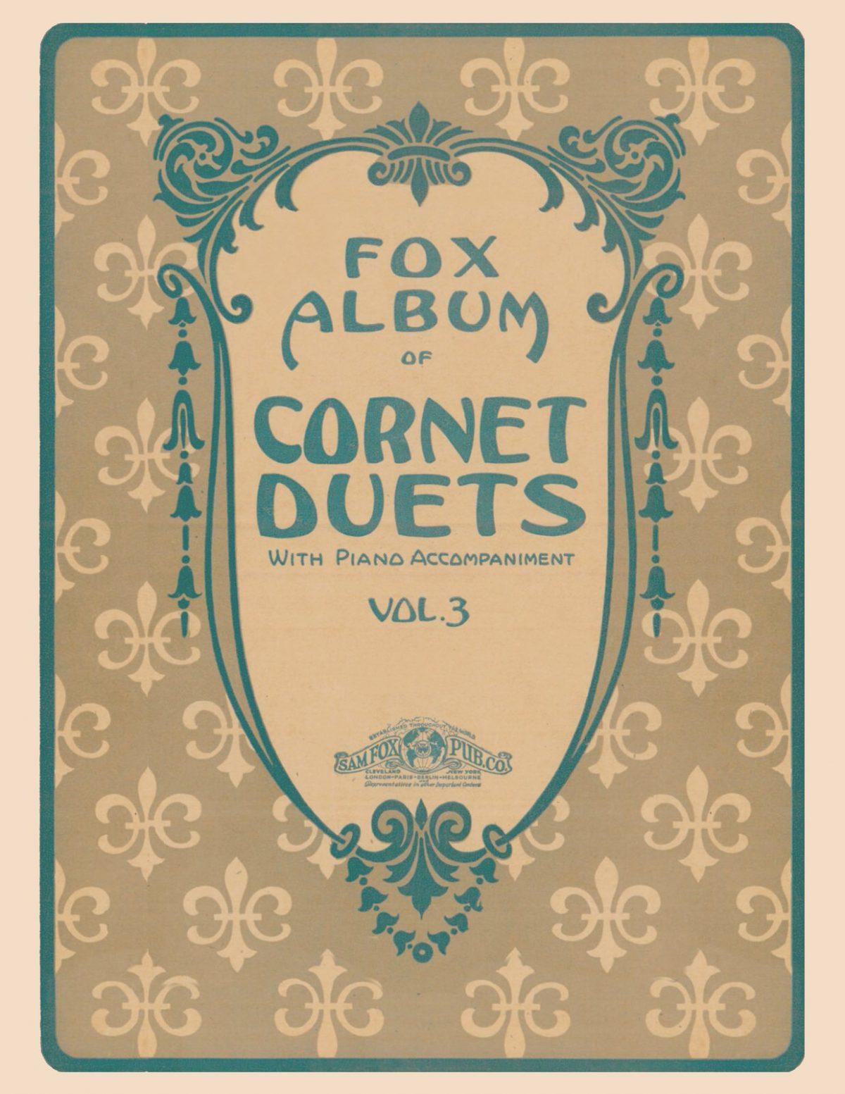 Fox Album of Cornet Duets Vol.3-p01