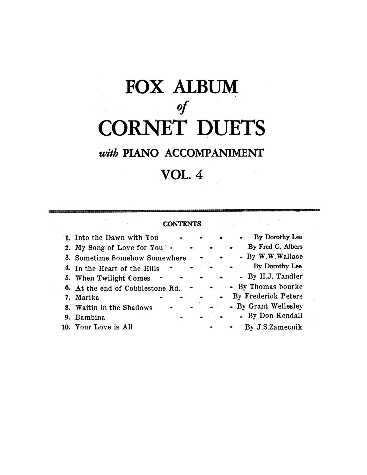 Fox Album of Cornet Duets Vol.4-p27