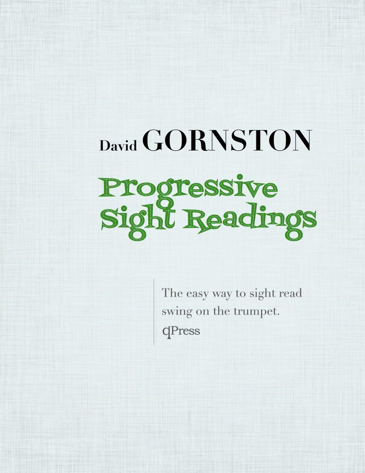 Gornston, Swing Studies for Trumpet-p01