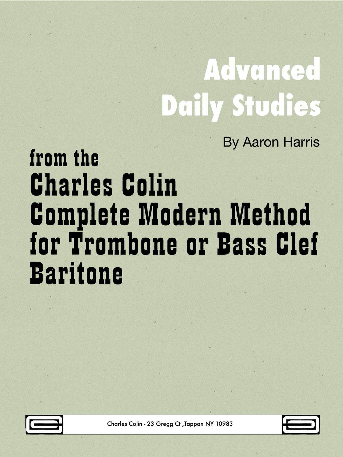 Harris, Advanced Daily Studies Bass Clef-p01
