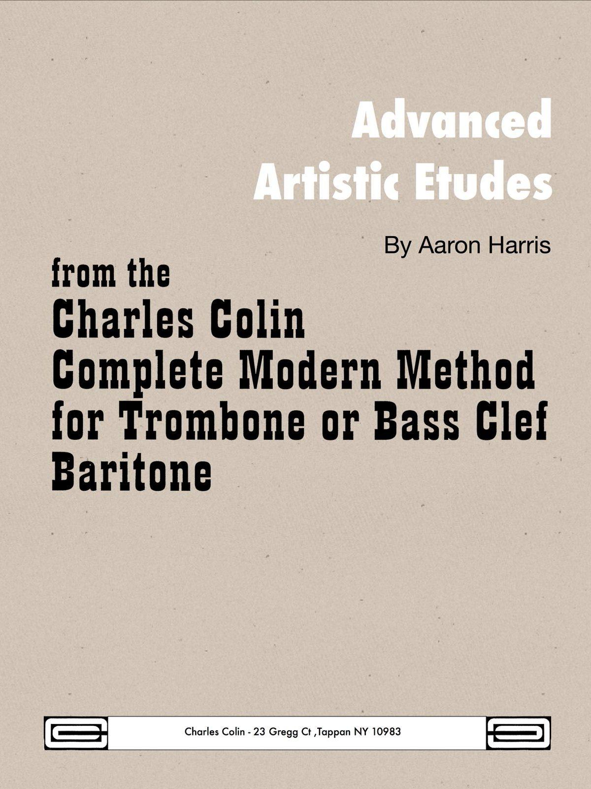 Harris, Advanced Etudes Bass Clef-p01