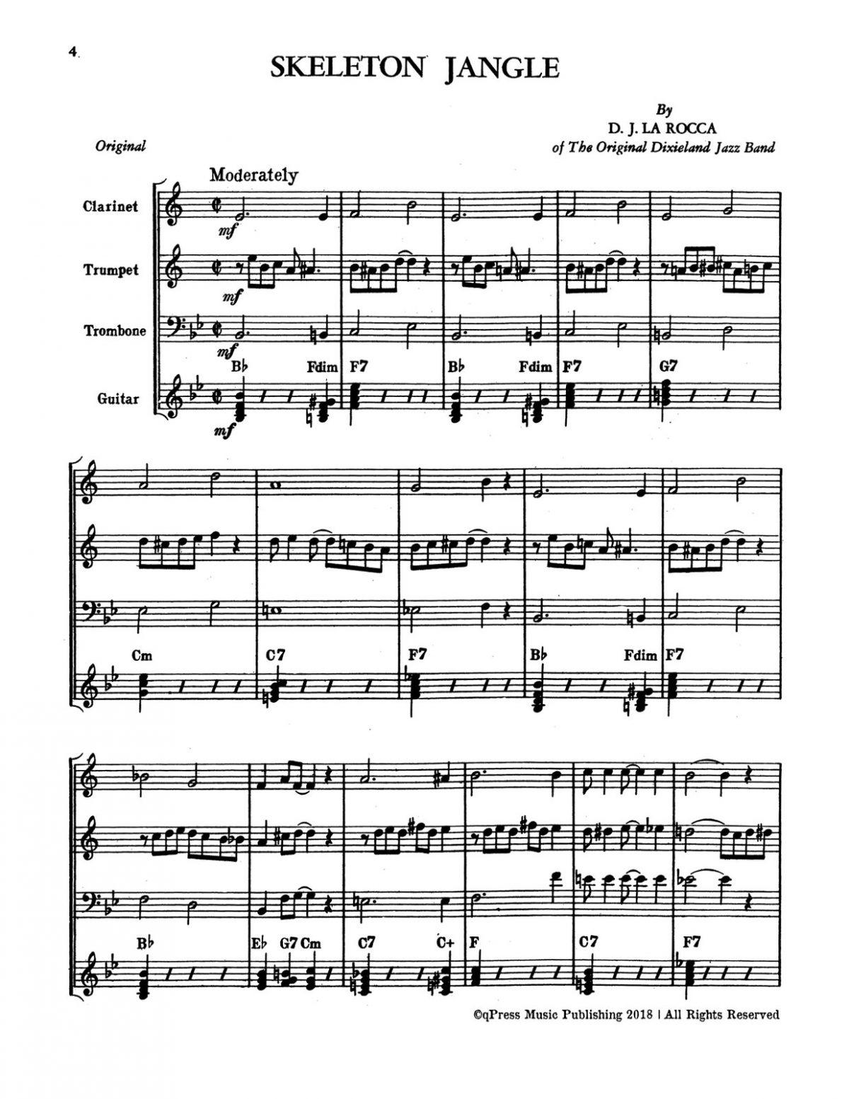 Levine, Modern Dixieland Style Book 2-p06