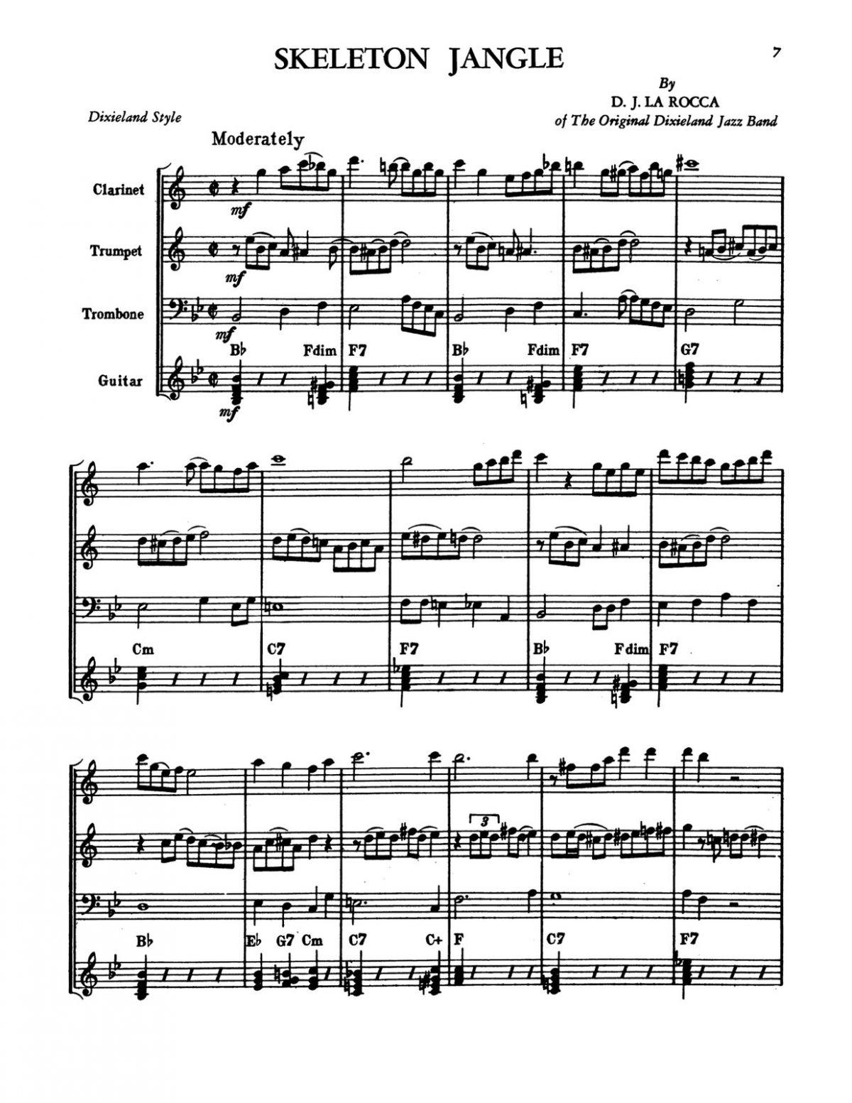 Levine, Modern Dixieland Style Book 2-p09