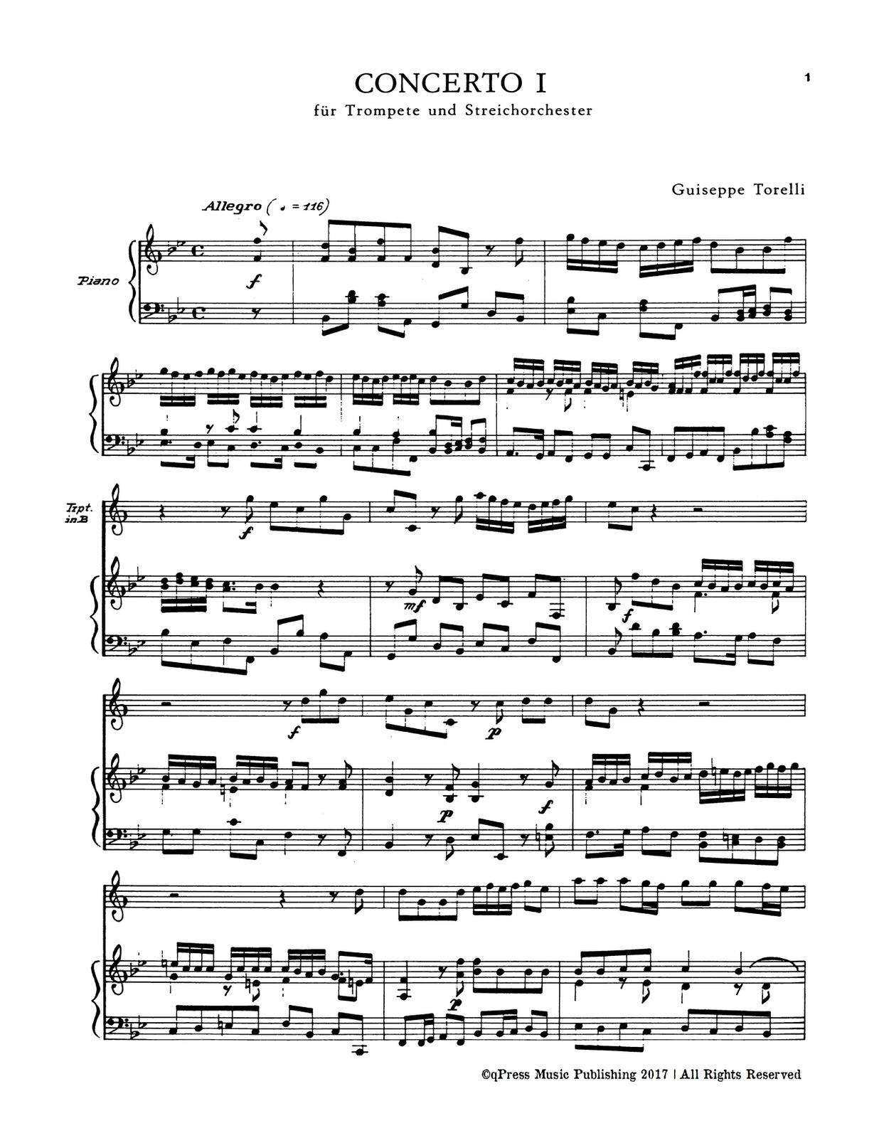 Torelli, Concerto No.1 for Trumpet-p05