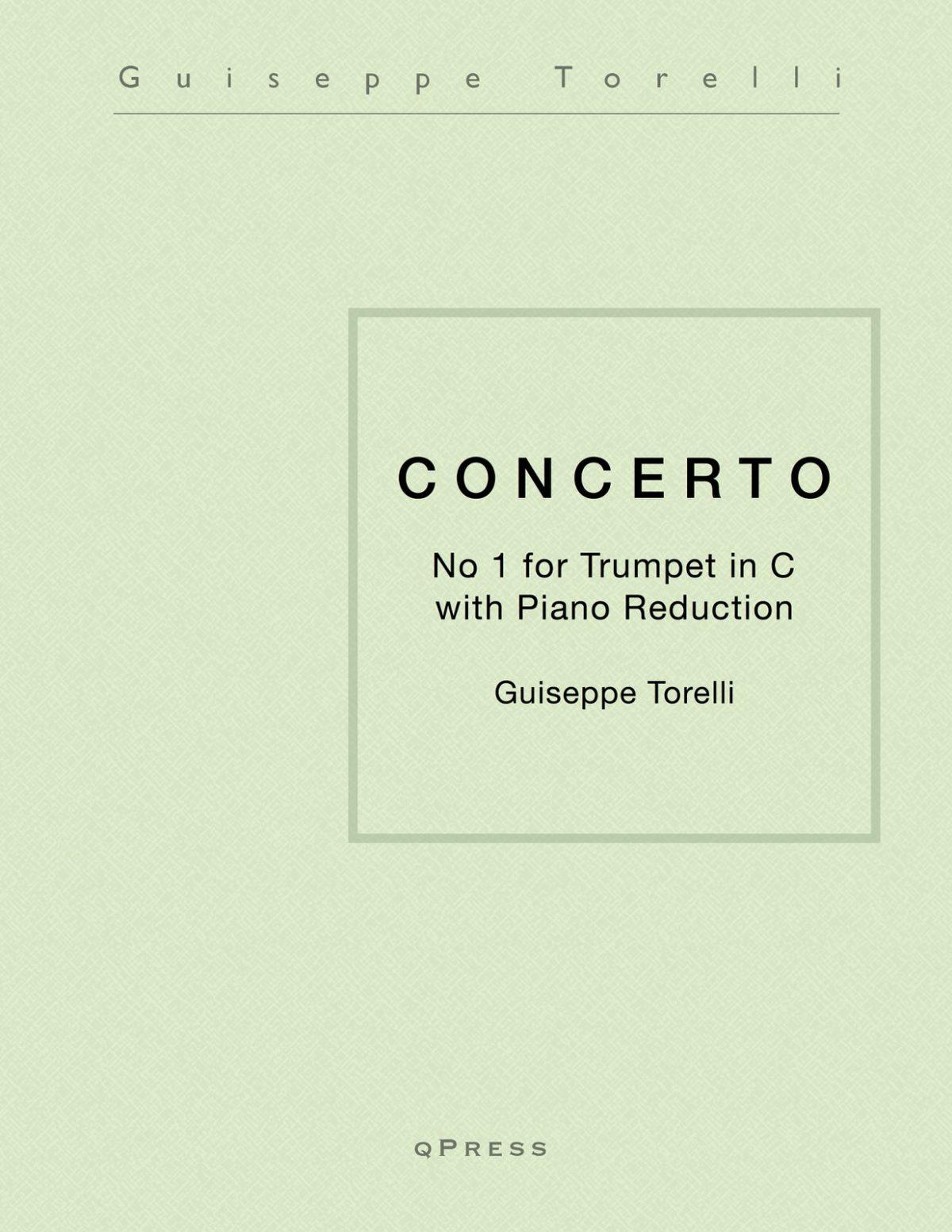 Torelli, Concerto No.1 in D Major (Tpt in C)-p01
