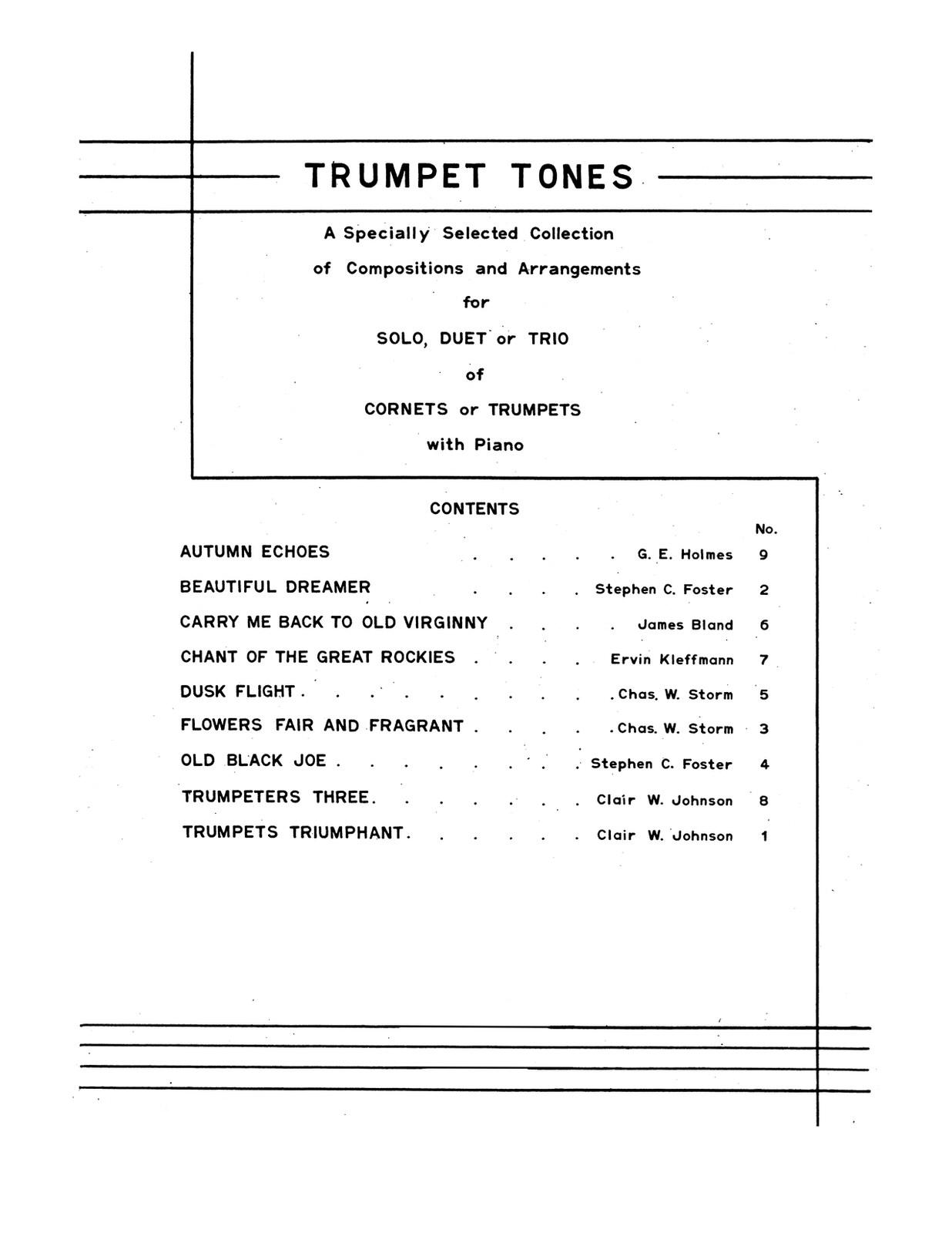 Trumpet Tones 2