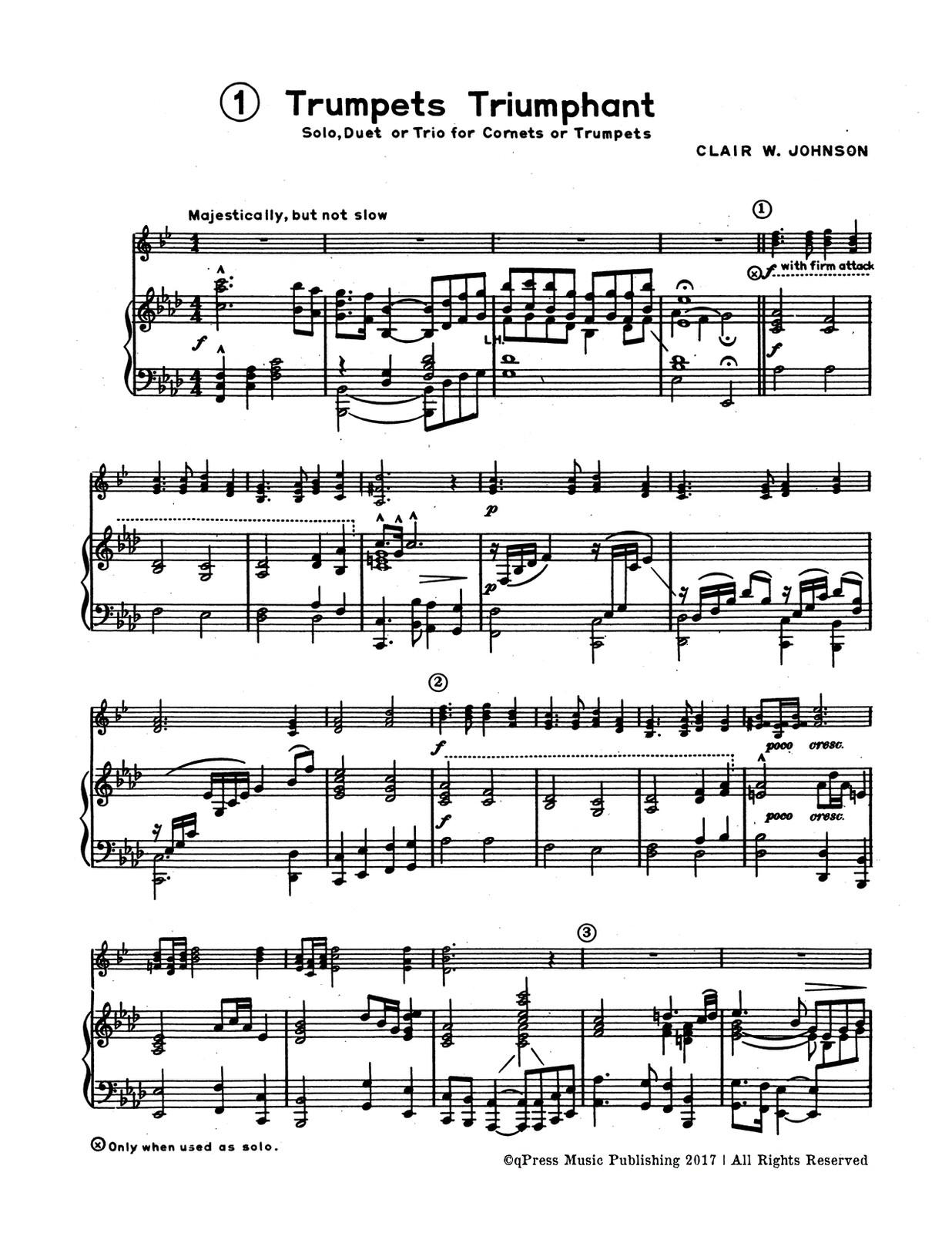 Trumpet Tones 6