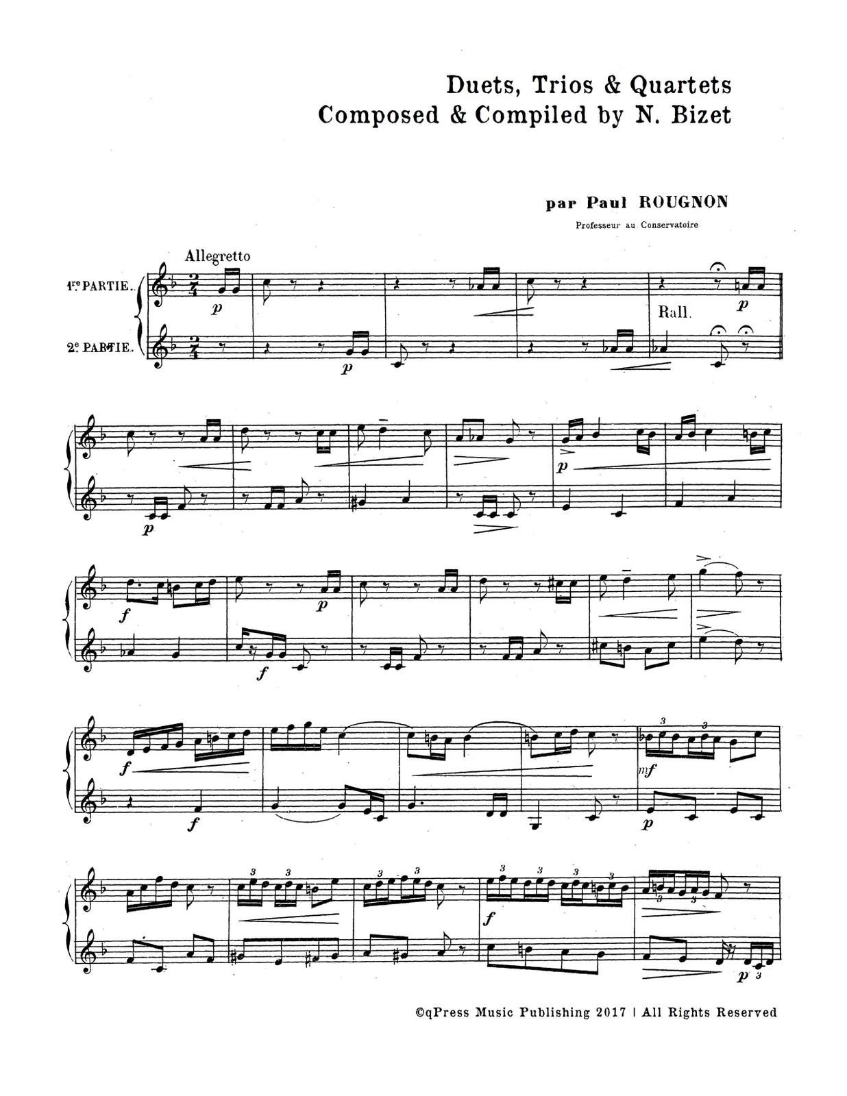 Bizet, Duets, Trios, and Quartets for Trumpet-p02