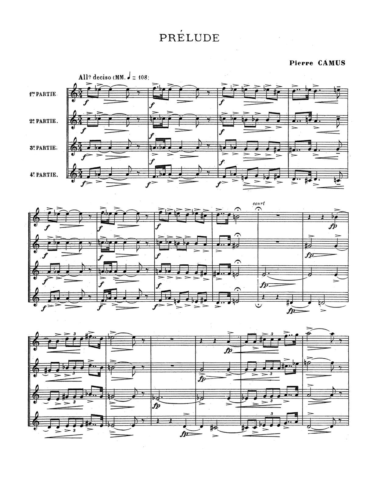 Bizet, Duets, Trios, and Quartets for Trumpet-p29