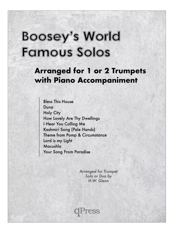Boosey's World Famous Solos-p01