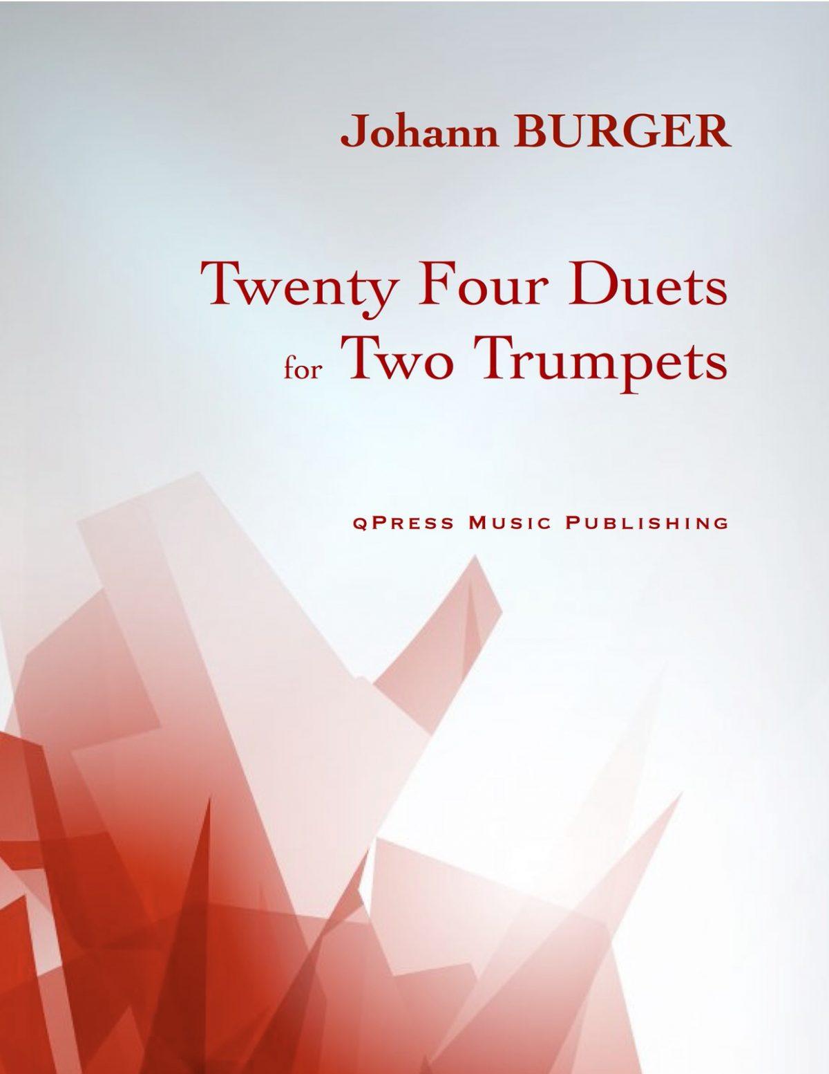 Burger, Johann, 24 Trumpet Duets-p01