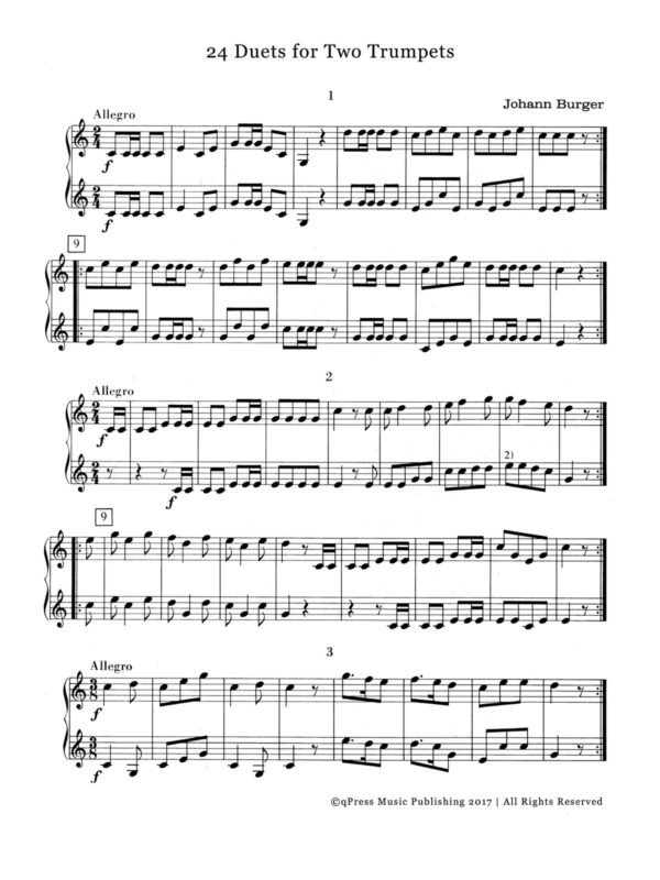 Piano piano and trumpet duet sheet music : Trumpet Duets PDFs | Page 4 of 7 | qPress