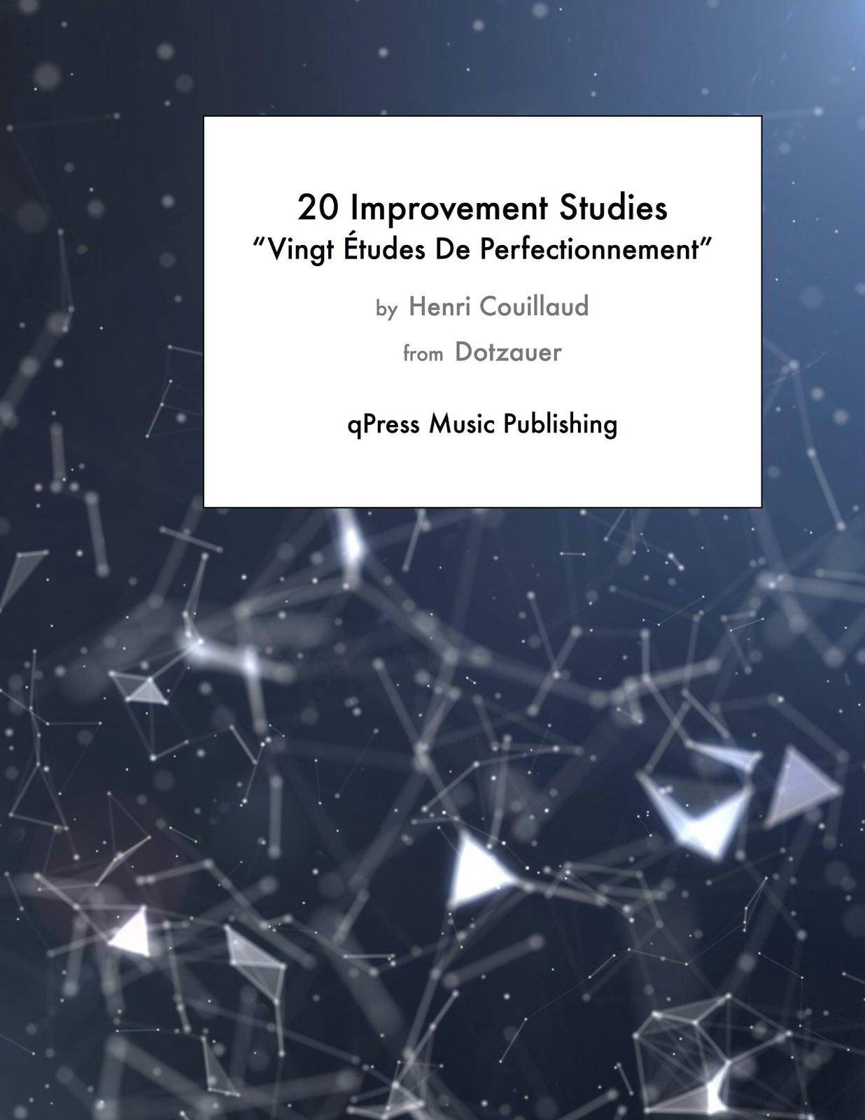Couillaud, 20 Improvement Studies Vingt Etudes De Perfectionnement-p01