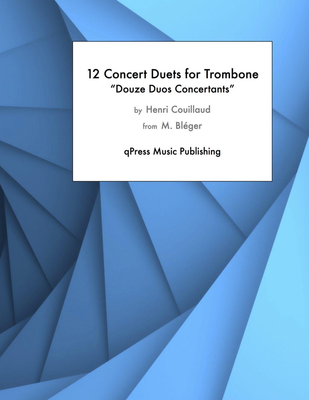 Couillaud, Douze Duos Concertants