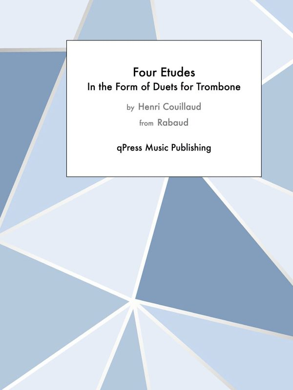 Couillaud, Four Etudes in the form of duets-p01