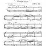 Couillaud, Four Etudes in the form of duets-p03