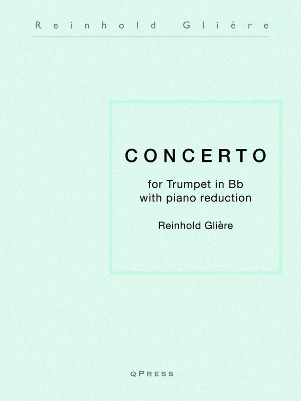 Gliere, Concerto for Trumpet and Piano-p01