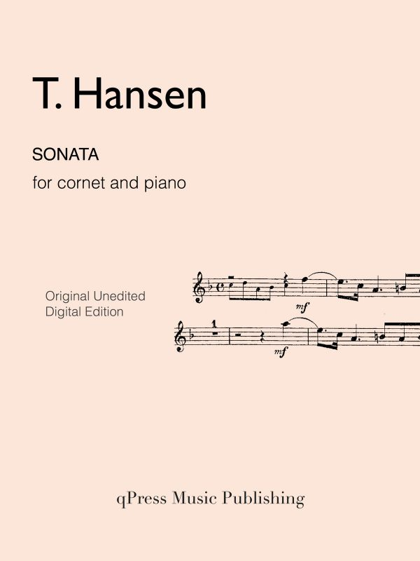 Hansen, Sonata for Cornet & Piano-p01