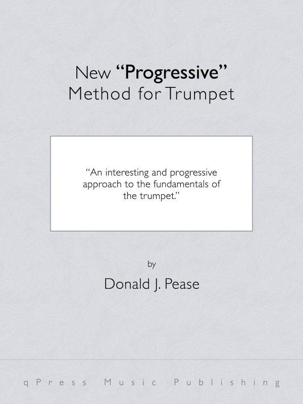 Pease, Donald J, New Progressive Method for Cornet-p01