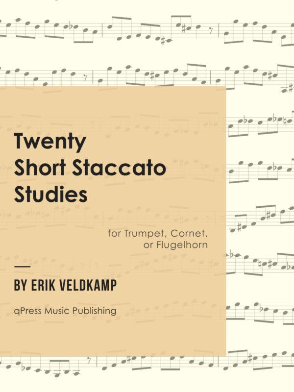Veldkamp, 20 Short Staccato Studies-p01