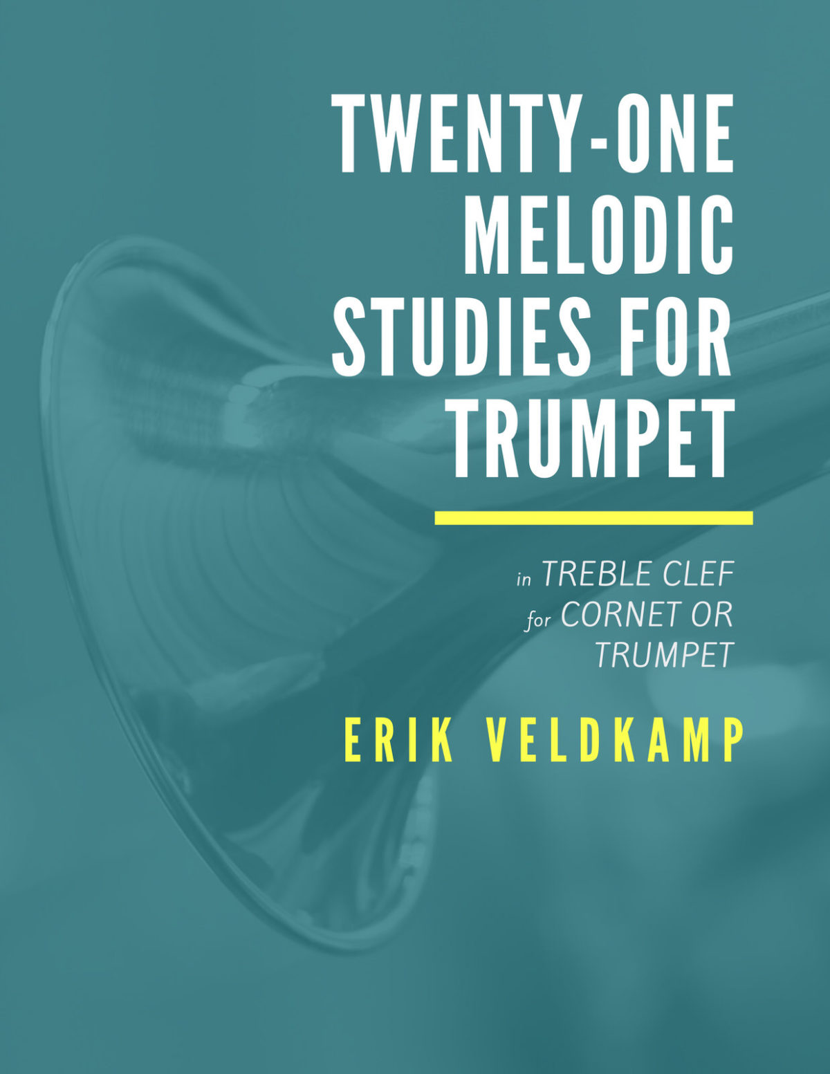 Veldkamp, 21 Melodic Studies for Trumpet