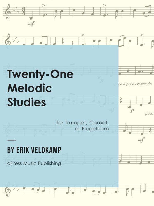 Veldkamp, 21 Melodic Studies-p01