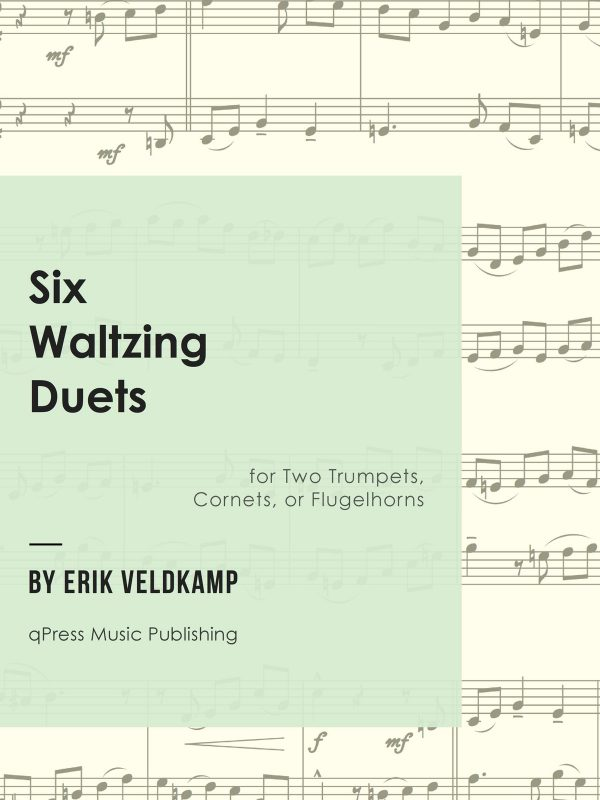 Veldkamp, Six Waltzing Duets for Two Trumpet-p01