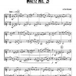 Veldkamp, Six Waltzing Duets for Two Trumpet-p08