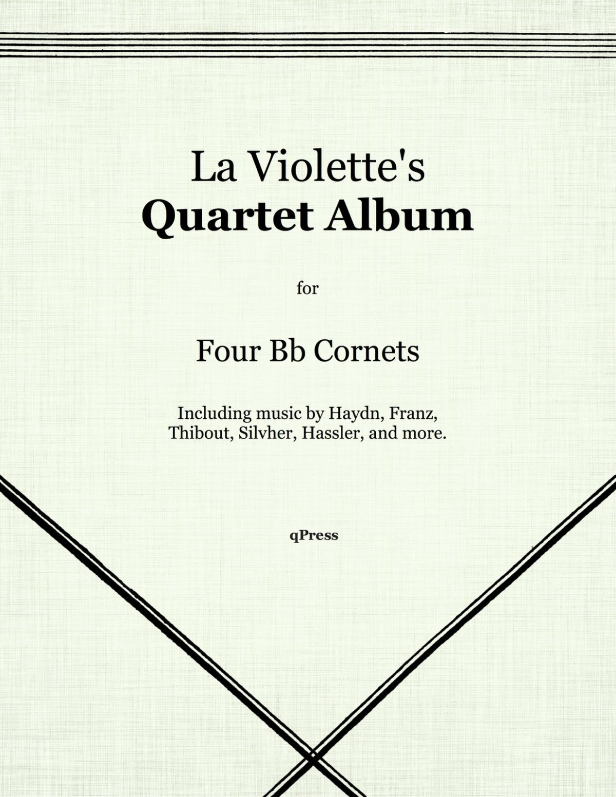 Violette, Wesley La, La Violette Quartet Album-p01