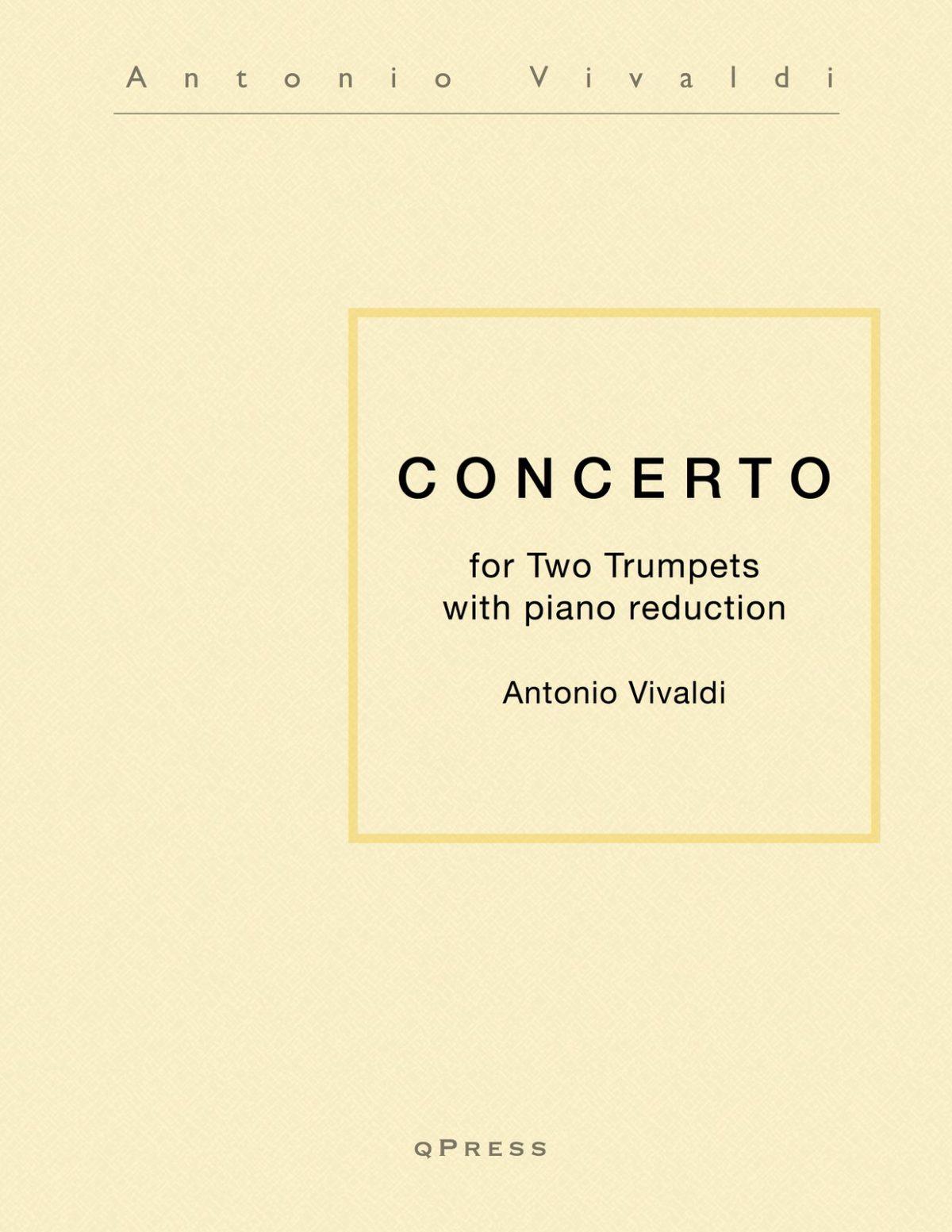Vivaldi, Concerto for Two Trumpets-p01