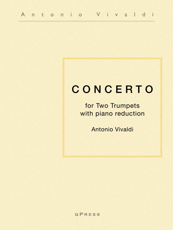 Vivaldi, Concerto for Two Trumpets-p01
