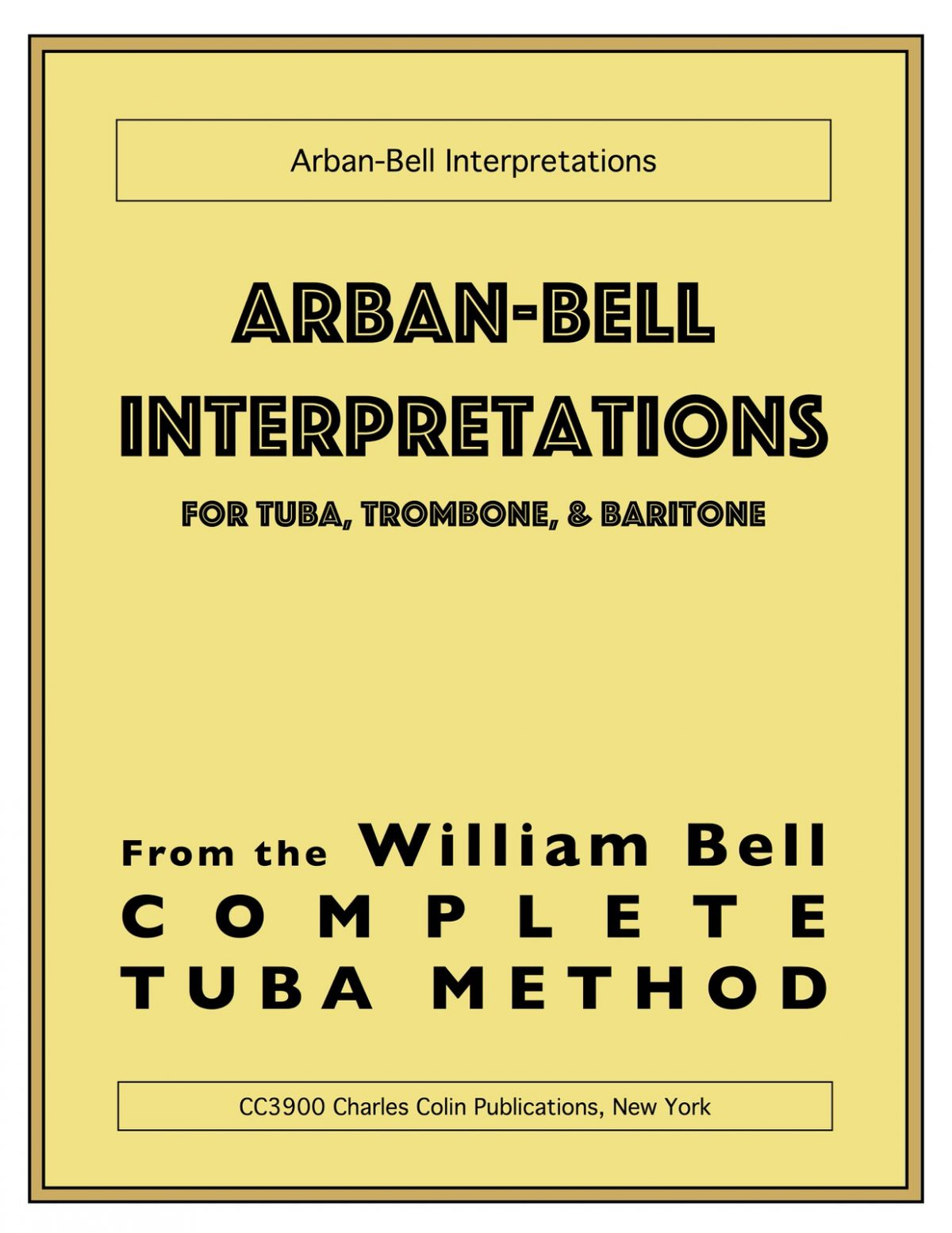 Bell, Arban-Bell Interpretations-p001