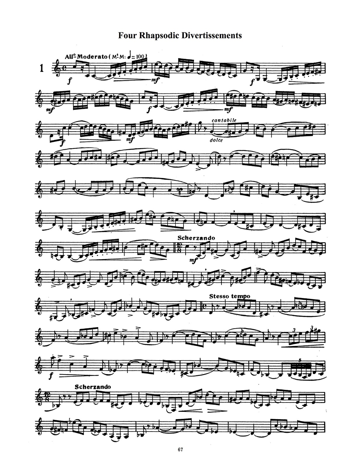 Charlier, Complete Method for Trumpet-p68