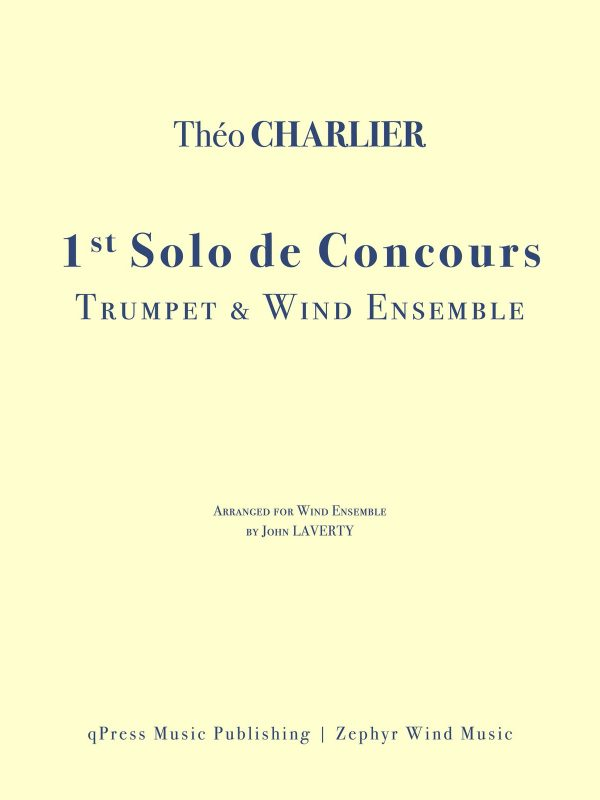 Charlier, Solo De Concours for Solo Trumpet and Wind Ensemble-p001