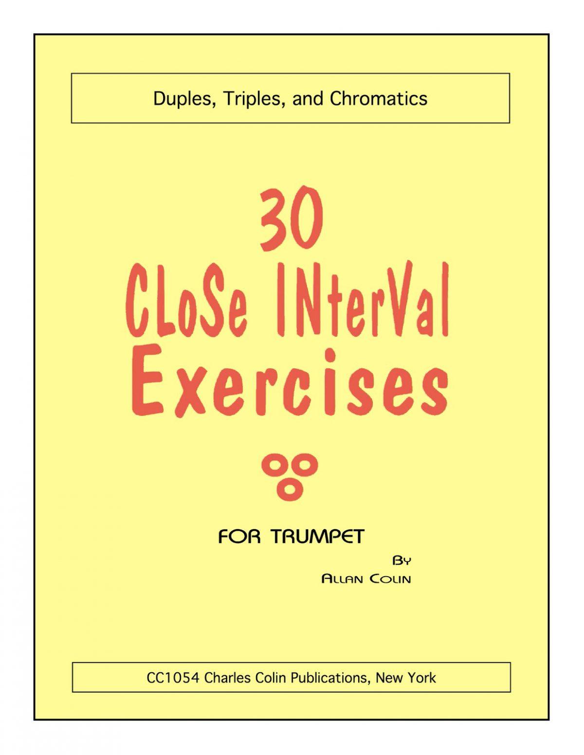 Colin, 30 Close Interval Exercises-p01