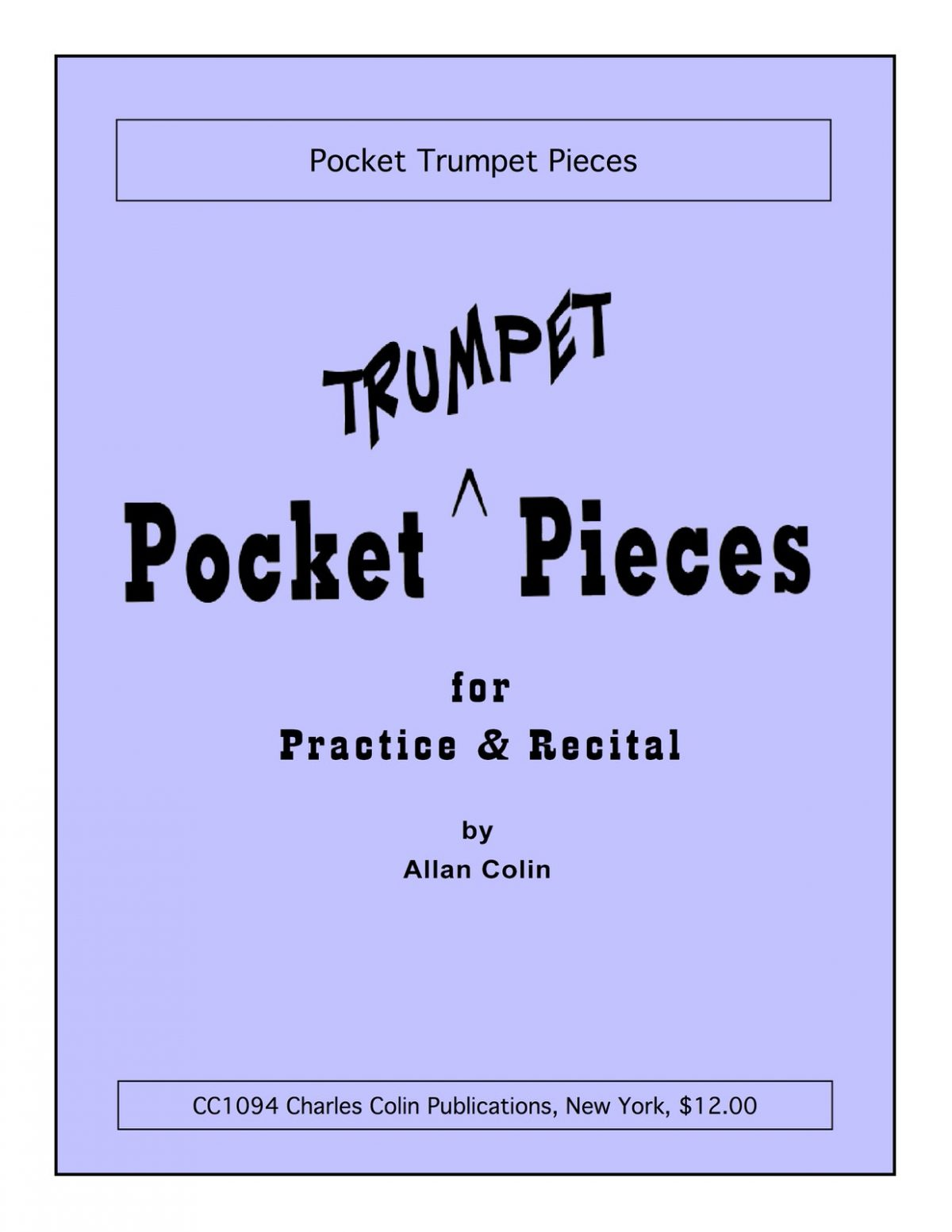 Colin, Allan, Pocket Trumpet Pieces-p01