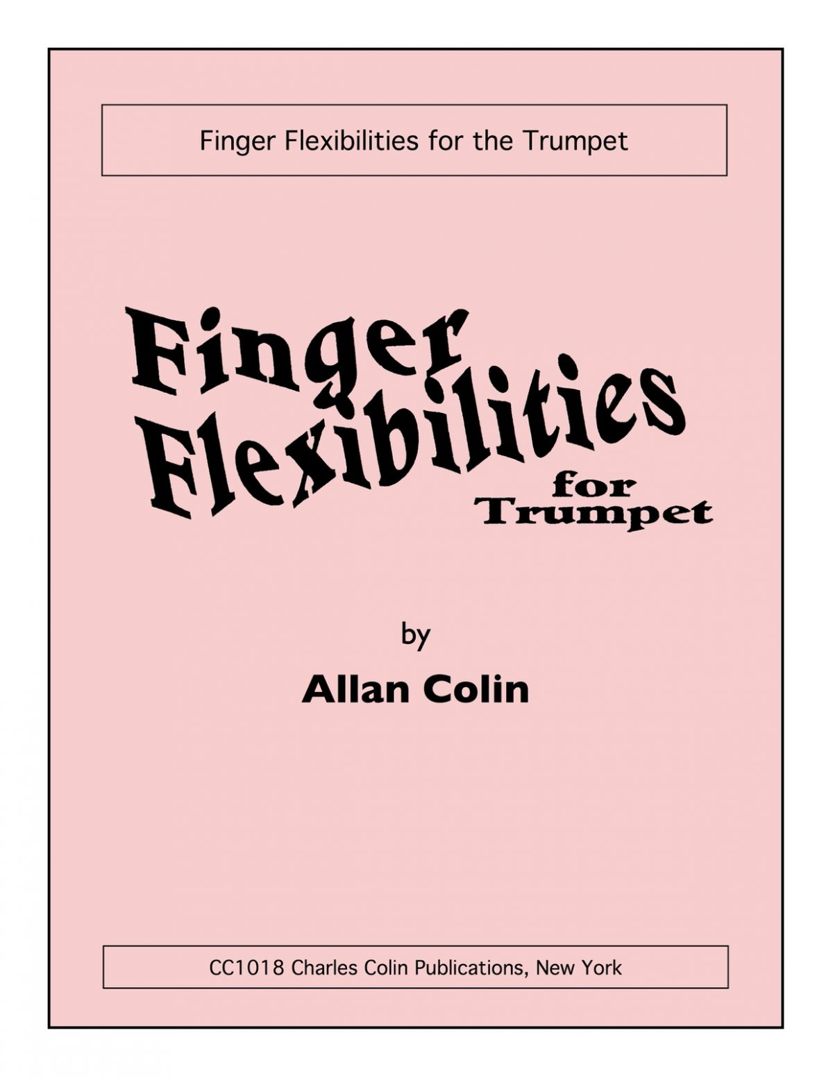 Colin, Finger Flexibilities for Trumpet-p01