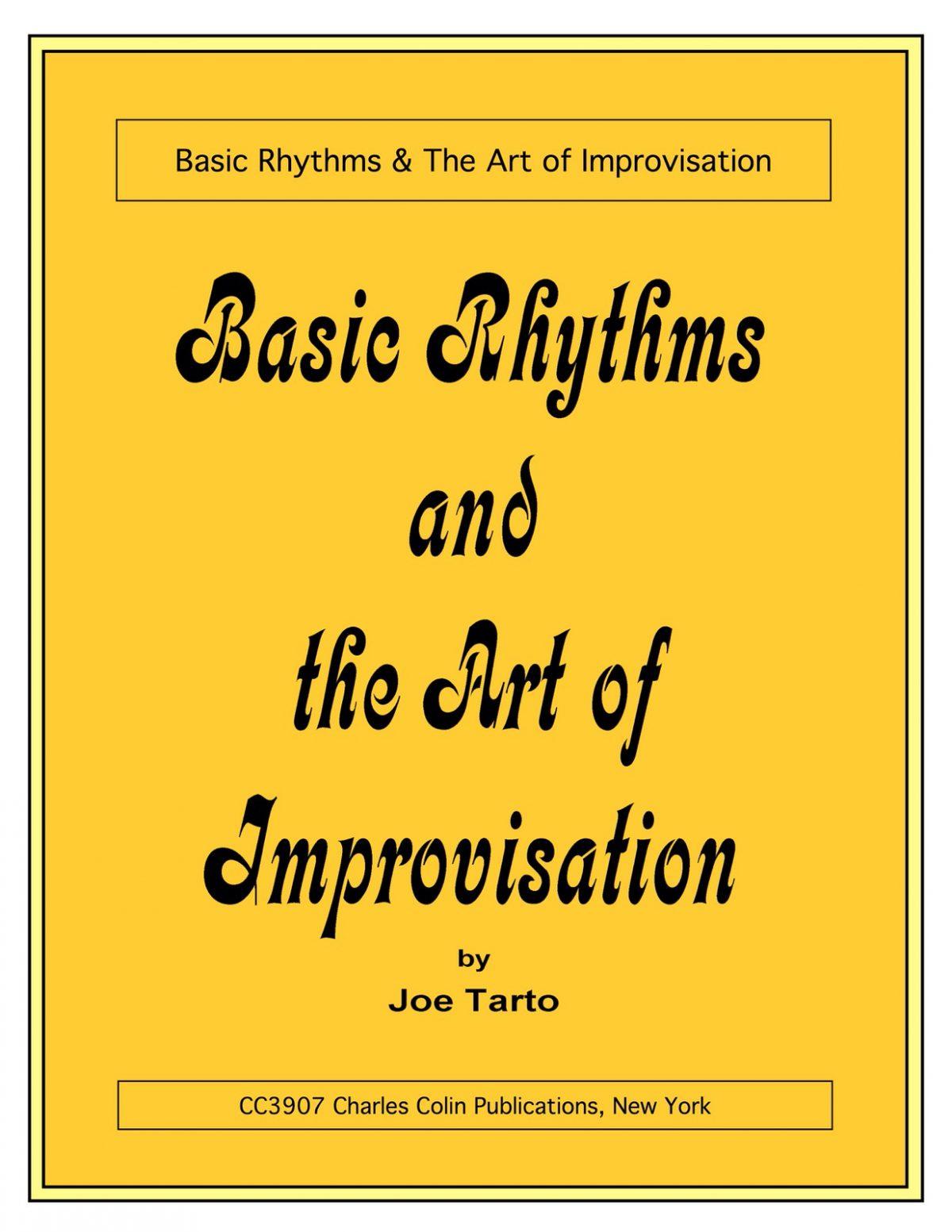 Tarto, Joe, Basic Rhythms and the Art of Improvisation-p001