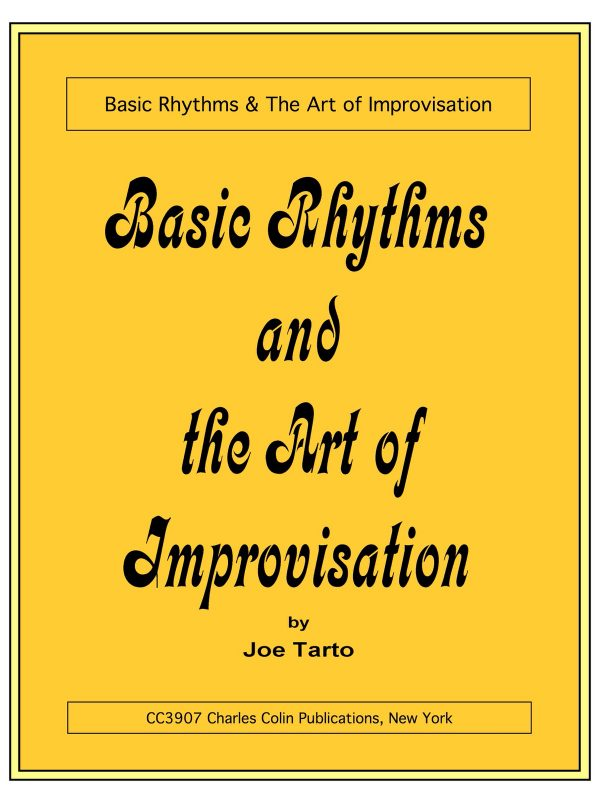 Tarto, Joe, Basic Rhythms and the Art of Improvisation-p001