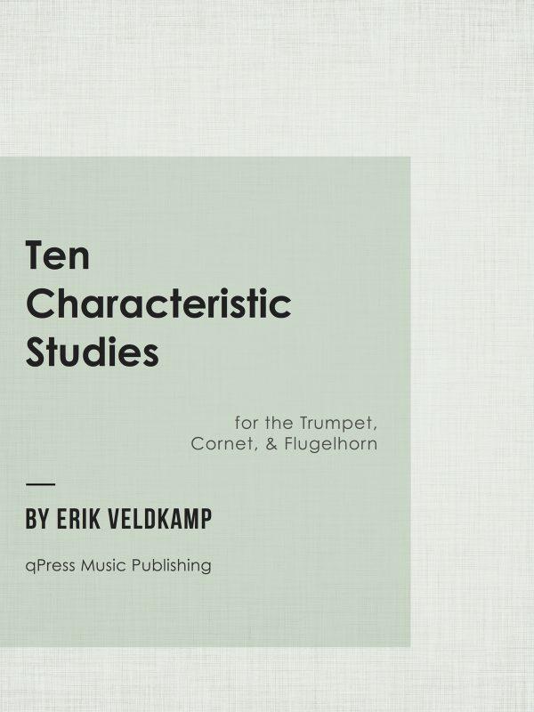 Veldkamp, 10 Characteristic Studies for Trumpet-p01