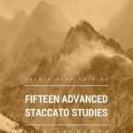 Veldkamp, 15 Advanced Staccato Studies for Trumpet