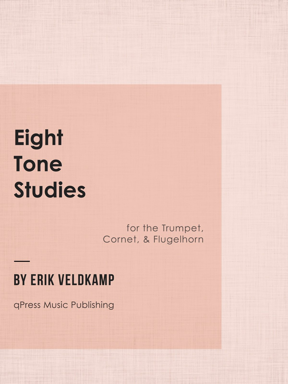 Veldkamp, 8 Tone Studies for Trumpet-p01