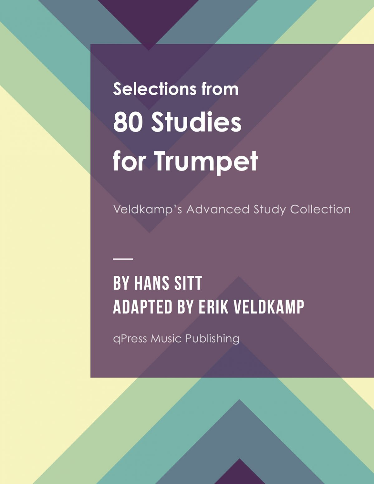Veldkamp-Sitt, 80 Studies for Trumpet-p001