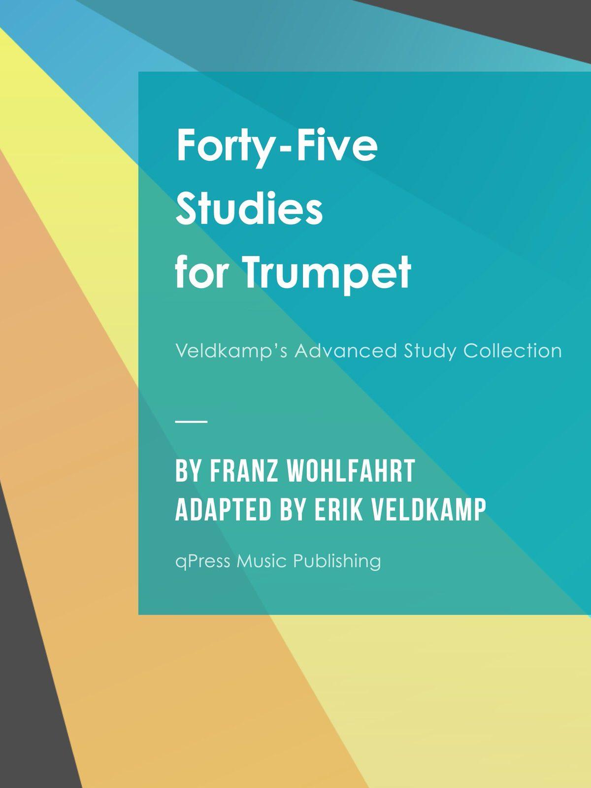 Veldkamp-Wohlfahrt, 45 Studies for Trumpet Op.45-p01