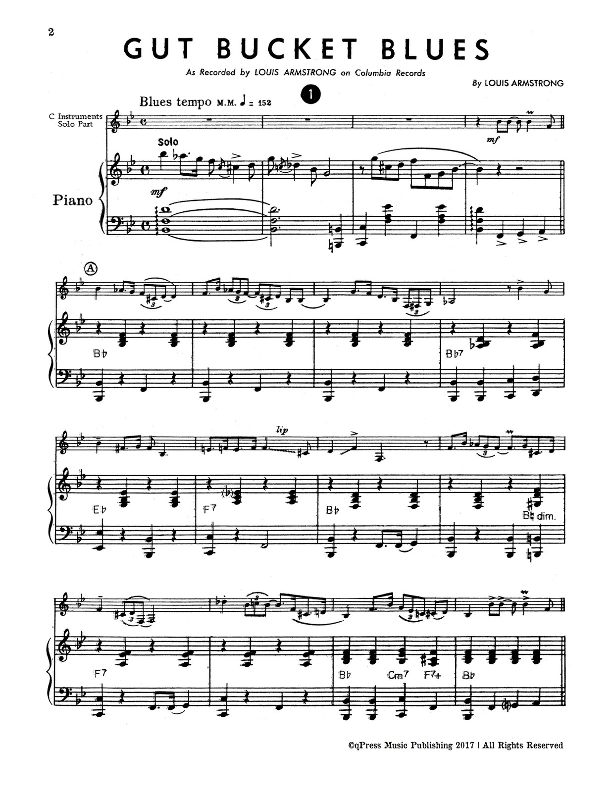 Armstrong, 20 Jazz Solos Vol.2 (Part and Score)-p30