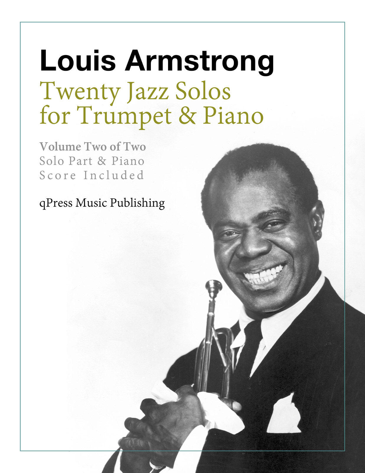 Armstrong, 20 Jazz Solos Vol.2 (Part and Score)