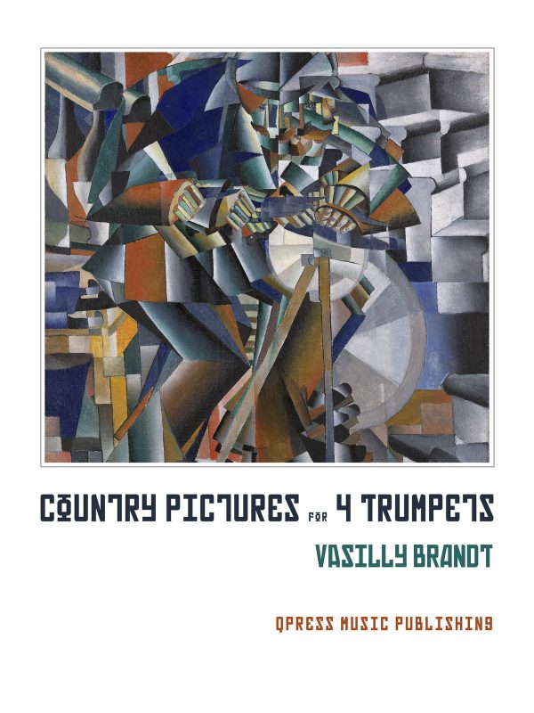 Brandt, Country Pieces for Four Trumpets